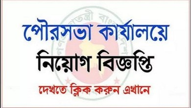 Municipality Office Job Circular 2019