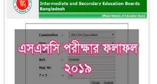 All Education Board will  publish one may 2019