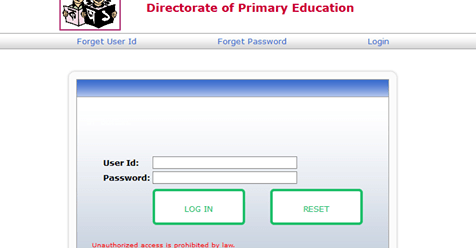 Primary Assistant Teacher Admit Card