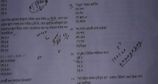 Download Primary Assistant Teacher MCQ Question Solution 2019 3rd Phase
