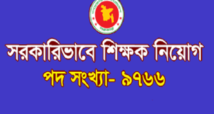 School Assistant Teacher Job Circular 2019