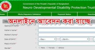 nddpt teletalk com bd – Apply Online, Admit Card 2019
