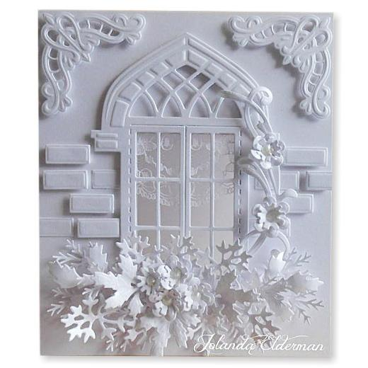Marianne Design Craftables Cutting Die Arched Window