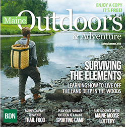 Maine Outdoors & Adventure spring 2018