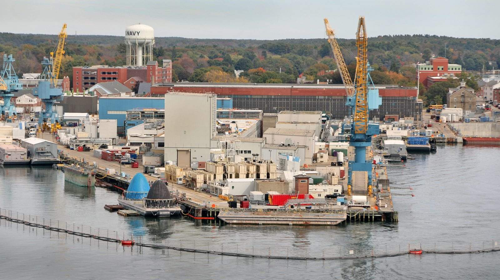 Defense bill with $162M for Maine shipyard upgrades sent to Trump for signature