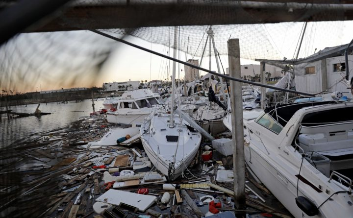Hurricane Michael leaves death and destruction in its wake     Weather     David Goldman   AP