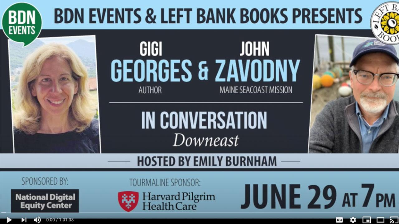 Gigi Georges & John Zavodny In Conversation video thumbnail