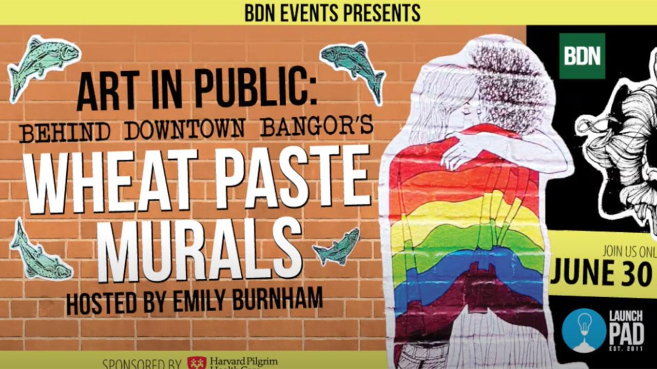 Wheat Paste Murals video thumb