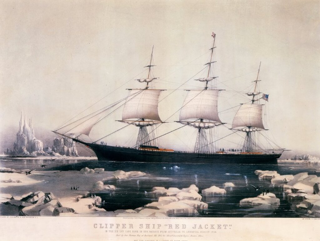 Mainers died and went insane while making the 'world's most dangerous voyage'