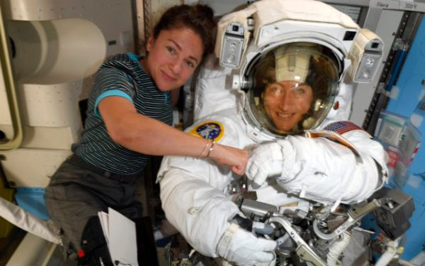 Caribou native Jessica Meir will take part in first all-female spacewalk