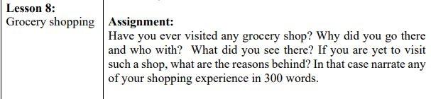 Grocery-shopping-english-class-6