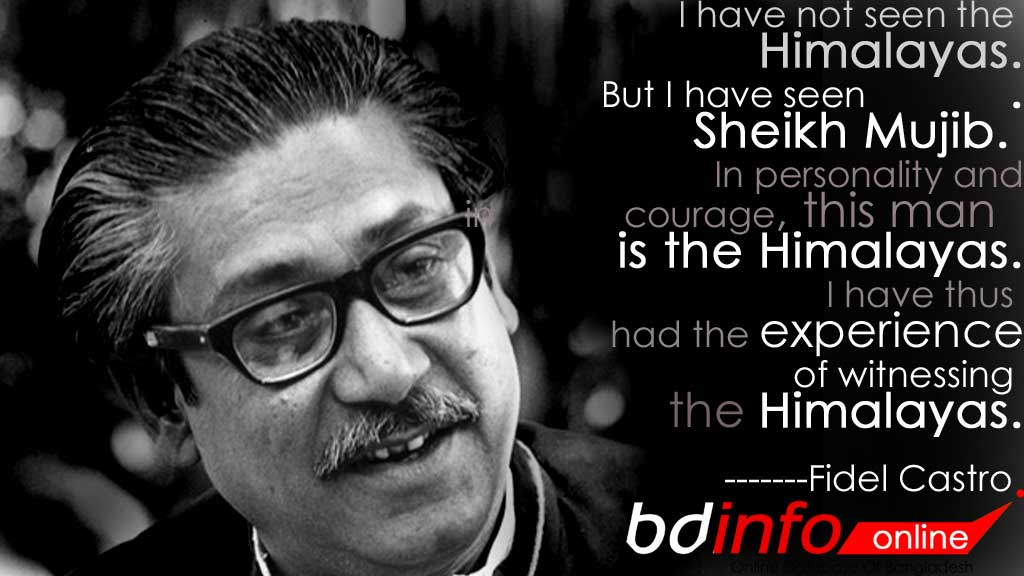 Sheikh Mujibur Rahman - Father Of The Nation