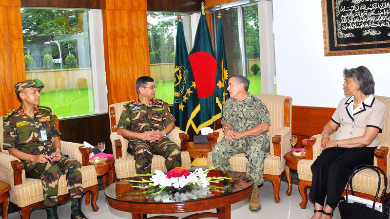 Admiral Harry B. Harris ,Commander, U.S. Pacific Command In Bangladesh2