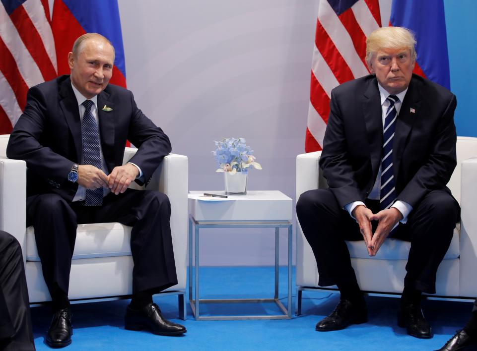 The Landmark Putin Trump Meeting in G 20 (Video)