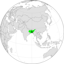 Bangladesh In Global Position - Bengal Presidency and United bengal