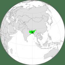 Bangladesh In Global Position - Bengal Presidency of British Raj