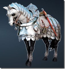 Calpheon Chargers' Horse Full Set Front