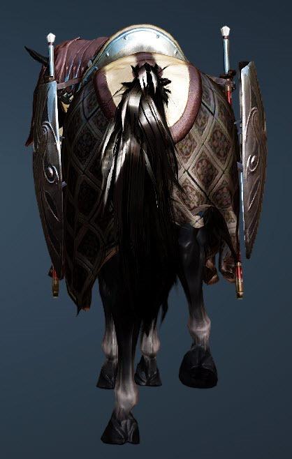 BDO Fashion | Commander's Horse Gear (Black Desert Online)