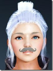 Gentleman Mustache Front