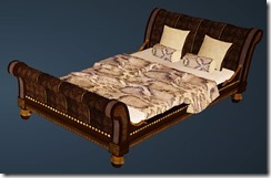 Python Bed Front