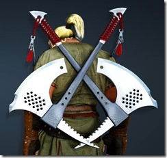 Canape Axe Stowed