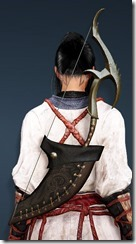 Acher Guard Horn Bow Stowed Maehwa