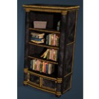 Keplan Marble Decorated Bookshelf