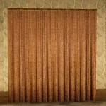 Fleece Drapeless Curtain