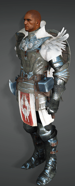 BDO Fashion | [Warrior] Delphe Knights Costume (Black Desert