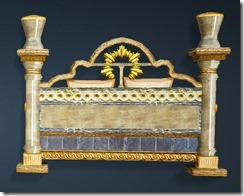 Calpheon Marble and Gold Bed Back