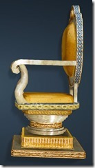 Calpheon Marble and Gold Chair Side
