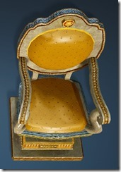 Calpheon Marble and Gold Chair Top