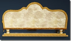 Calpheon Marble and Gold Sofa Back