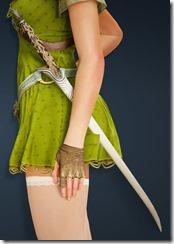 Desert Camouflage Elven Sword Stowed