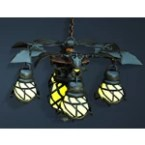 [Halloween] Bat Wing Chandelier