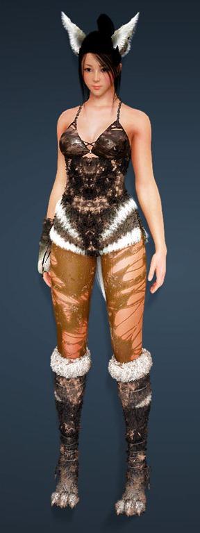 BDO Fashion | [Kunoichi] Gloomy Fox (Black Desert Online)
