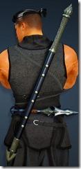 Acher Guard Shortsword Stowed Ninja