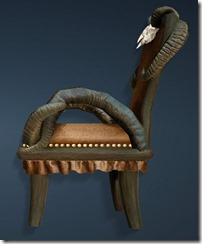 Goat Horn Chair Side