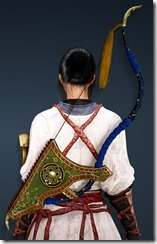 Karin Horn Bow Stowed