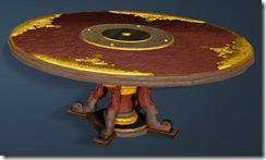 Kzarka Decorated Dining Table