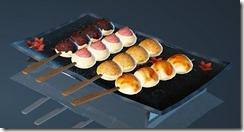 Dango Takoyaki Riceball Plate Set