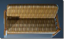 Natural Log Sofa Top
