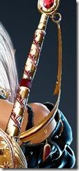 Lahr Arcien R Ornamental Knot Stowed