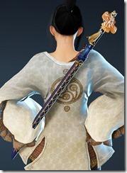 Blushing Maiden Short Sword Stowed