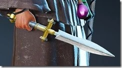 Epheria Marine Wizard Dagger Drawn