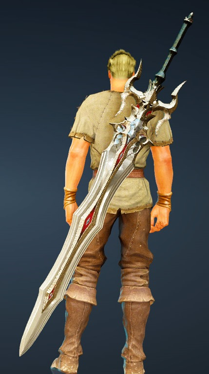 BDO Fashion   [Warrior] Doomsday Great Sword (Black Desert