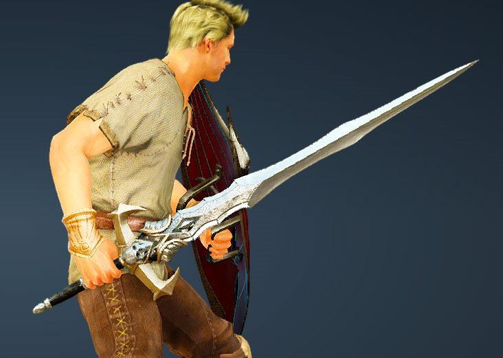 BDO Fashion   [Warrior] Doomsday Longsword (Black Desert Online)
