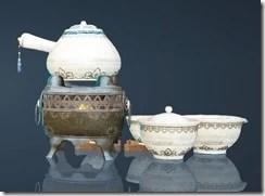 Haso Teaware Tea Set Rear