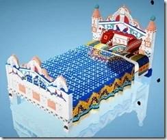 Masenka Bed Front