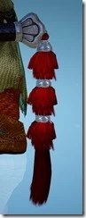 Berserker Red Robe Ornamental Knot Stowed